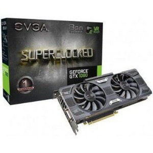 Placa de Video EVGA GEFORCE GTX 1080 SC GAMING 8GB DDR5X - 08G-P4-5186-KR