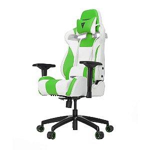 Cadeira Gamer VERTAGEAR SERIES RACING S-LINE SL4000 BRANCO E VERDE - VG-SL4000_WG