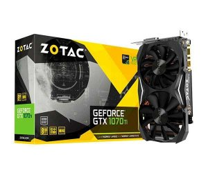 Placa de Video ZOTAC GEFORCE GTX 1070 TI MINI 8GB GDDR5 256 BITS - ZT-P10710G-10P