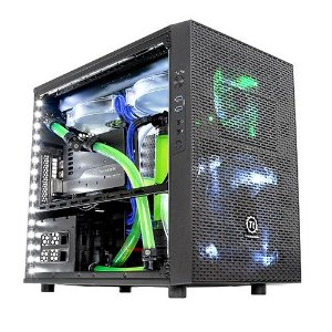 Gabinete Thermaltake TT CORE X1 BLACK/WIN/SECC CASE