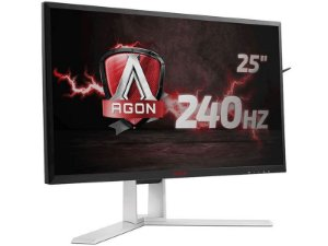 "Monitor Gamer AOC 24,5"" LED 1920X1080 WIDE G-SYNC 240HZ HDMI DP"