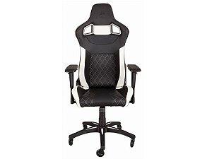 Cadeira Gamer Corsair T1 RACE PRETA/BRANCA
