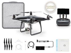 Drone DJI PHANTOM 4 PRO+ OBSIDIAN EDITION C/ TELA INTEGRADA DE 5.5 POL