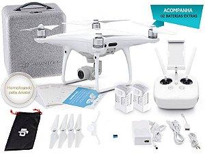 Drone DJI PHANTOM 4 PRO COMBO C/ 02 BATERIAS EXTRAS-34235-7