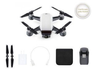 Drone DJI SPARK WHITE ALPINE SEM RADIO CONTROLE-35390-8