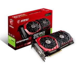 PLACA DE VIDEO MSI GEFORCE GTX 1070 TI GAMING 8G DDR5 256 BITS - GEFORCE GTX 1070 TI GAMING 8G