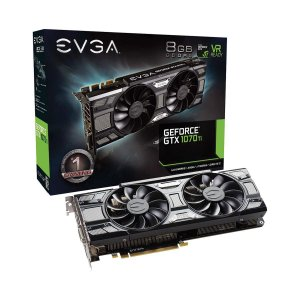 Placa de Video EVGA Geforce GTX 1070 TI 8G GDDR5 256BITS HDMI/DVI-D/3X  08G-P4-5671-KR