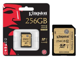 Cartão De Memoria Kingston CLASSE 10 SDXC 256GB UHS-I U3 ULTIMATE