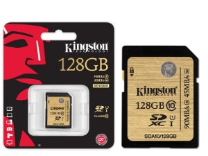 Cartão De Memoria Kingston CLASSE 10 SECURE DIGITAL ULTIMATE SDXC 128GB UHS-I PR