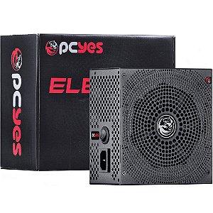 Fonte Pcyes ATX 430W REAL ELECTRO V2 SERIES 80 PLUS BRONZE - ELECV2PTO430W