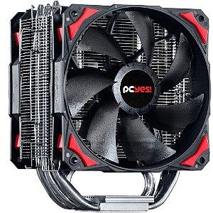 Cooler para processador PCYES ZERO K Z5 120 MM PRETO - ACZK5120