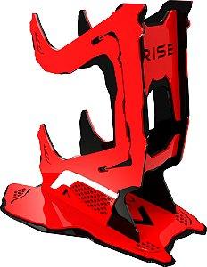 Suporte Para Controle Rise Preto e Vermelho