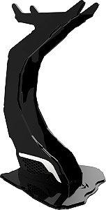 Suporte para Headset Rise Alien Preto