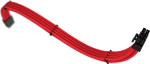 Cabo Sleeved Rise Mode PCI-E 6+2 Full Red