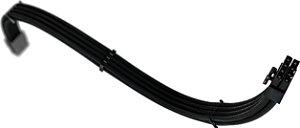 Cabo Sleeved Rise Mode PCI-E 6+2 Full Black
