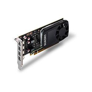 Placa Quadro Nvidia Quadro P1000 4GB GDD5 128 BITS VCQP1000-PORPB