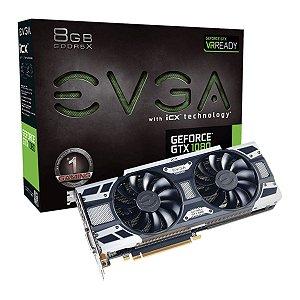 Placa De Video EVGA Nvidia Geforce GTX 1080 GAMING ICX 8GB GDDR5X 256BITS 08G-P4-6581-KR