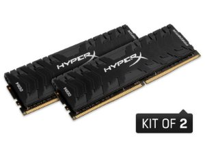 Memória Kingston Hyperx Predator 32GB KIT2X16GB 3000MHZ CL15 DIMM XMP HX430C15PB3K2/32