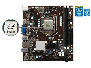 Placa Mãe C/ Processador Intel Centrium I5-6500T 2.5GHZ DDR4 CHIPSET H110