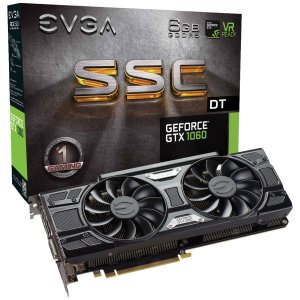 Placa De Video Evga Nvidia Geforce GTX 1060 6GB GDDR5 192 BITS ACX 3.0 LED 06G-P4-6265-KR