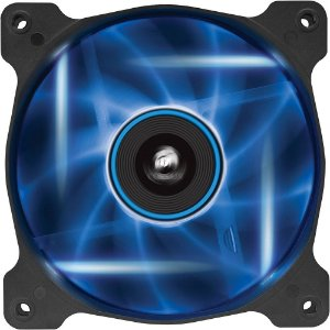 Case fan Corsair Air Series SP120 STATIC PRESSURE LED AZUL 120MM X 25MM - CO-9050021-WW