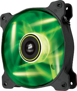 Casa Fan Corsair SP120 BAIXO RUIDO LED VERDE CO-9050022-WW