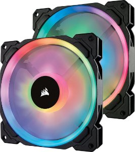 Case Fan Corsair LL SERIES 140MM RGB PACK COM 2 UNIDADES CO-9050074-WW
