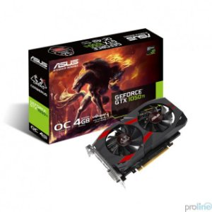 Placa De Video Asus Geforce GTX 1050 TI OC 4GB DDR5 128 BITS CERBERUS-GTX1050TI-O4G