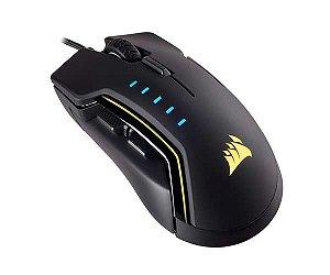 Mouse Gamer Corsair GLAIVE RGB (16000 DPI) PRETO - CH-9302011-NA