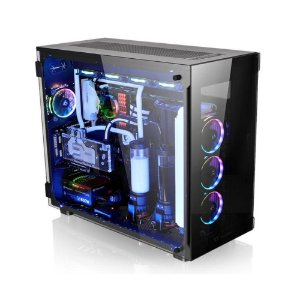 Gabinete Thermaltake TT VIEW 91 TG RGB BK/TEMP. GLASS*3/WIN/SGCC