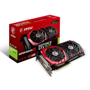 PLACA DE VIDEO MSI GEFORCE GTX 1070 8GB DDR5 256 BITS - GTX 1070 GAMING X 8G