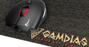 Combo Gamer Gamdias Mousepad Ambidestro Demeter E1 3200 dpi + Mousepad