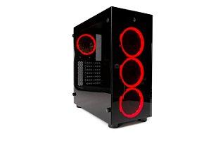 Gabinete Gamer RiseMode GLASS 01 RM-CA-01-BR