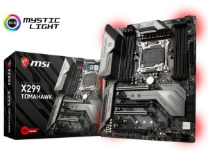 Placa Mae Msi X299 TOMAHAWK ATX DDR4 RGB 4133MHZ M.2 SLI LGA 2066