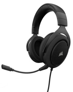 Headset Gamer Corsair HS50 P2 Stereo Carbono - CA-9011170-NA