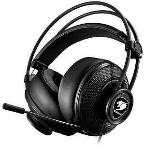 Headset Gamer Cougar Immersa Black - 3H300P40B.0009