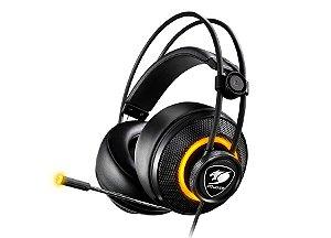 Headset Gamer Cougar Immersa Pro Black - 3H700U50B-0004