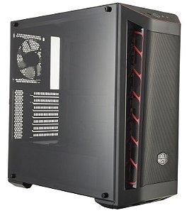 Gabinete Cooler Master Masterbox MB511 Red Trim - MCB-B511D-KANN-S00