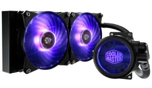 Water Cooler Cooler Master Masterliquid  Pro 240 RGB - MLY-D24M-A20PC-R1