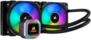 Water Cooler Corsair H100I RGB 240MM Platinium- CW-9060039-WW