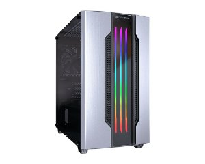 Gabinete Gamer Cougar Gemini M Silver, Mini Tower, RGB, com FAN, Lateral em Vidro - 385TMB0.0002