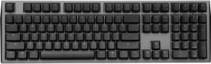 Teclado Mecânico Ducky Channel Shine 7 Gunmetal RGB Backlight Cherry Red