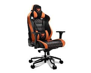 Cadeira Gamer Cougar Armor Titan Pro, Preto/Laranja - 3MTITANS-0001