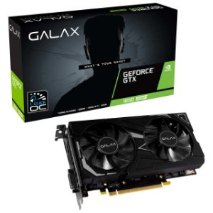Placa de Vídeo Galax NVIDIA GeForce GTX 1650 4GB SUPER EX 1CLICK OC G6 128B GALAX - 65SQL8DS61EX