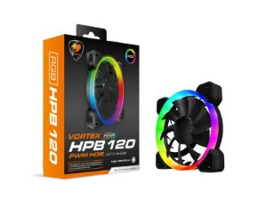 Case Fan Cougar Vortex HPB 120 RGB PWM - 3MHPB120.0001