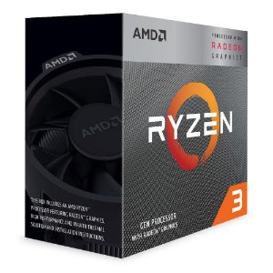 Processador AMD Ryzen 3 3200G 3.6GHz 4 Cores 8 Threads 6Mb AM4 Wraith Stealth Cooler YD3200C5FHBOX