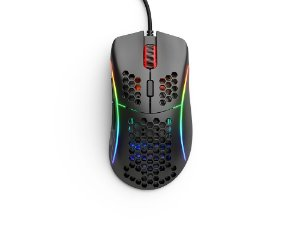 Mouse Gamer Glorious Gaming Model D Preto Fosco - GD-BLACK