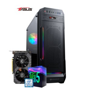Computador Gamer PlayerID, série New Player, I5 9400F, GTX 1660 SUPER, 8GB RAM, SSD 240GB - CG-PID-NP-01B