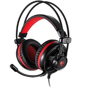 Headset Motospeed H11 Preto 5.1 LED Vermelho