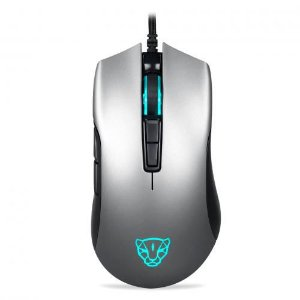 Mouse Gamer Motospeed V70 RGB, Cor Cinza, 12.000 DPIs - FMSMS0009CIZ